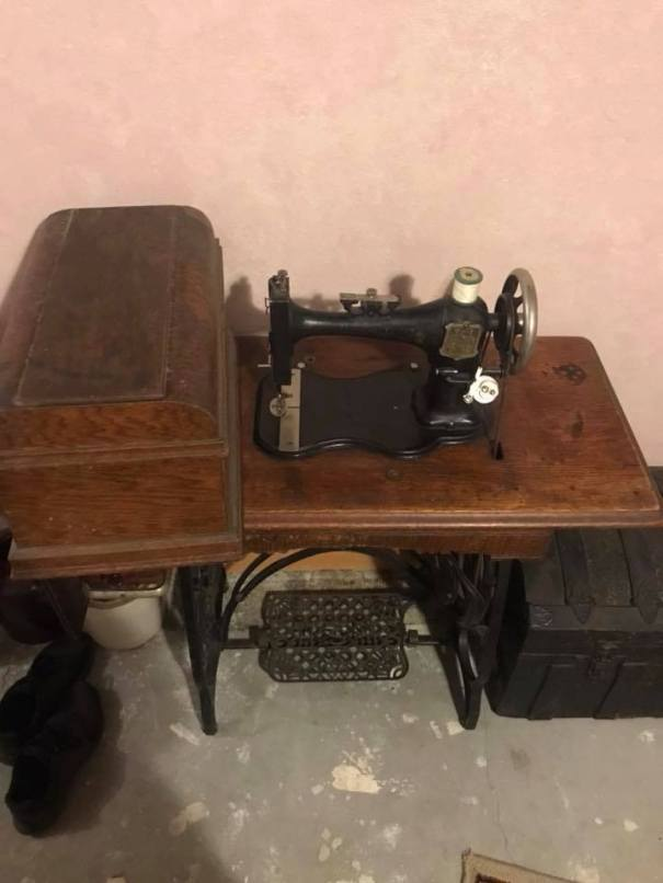 8 household treadle