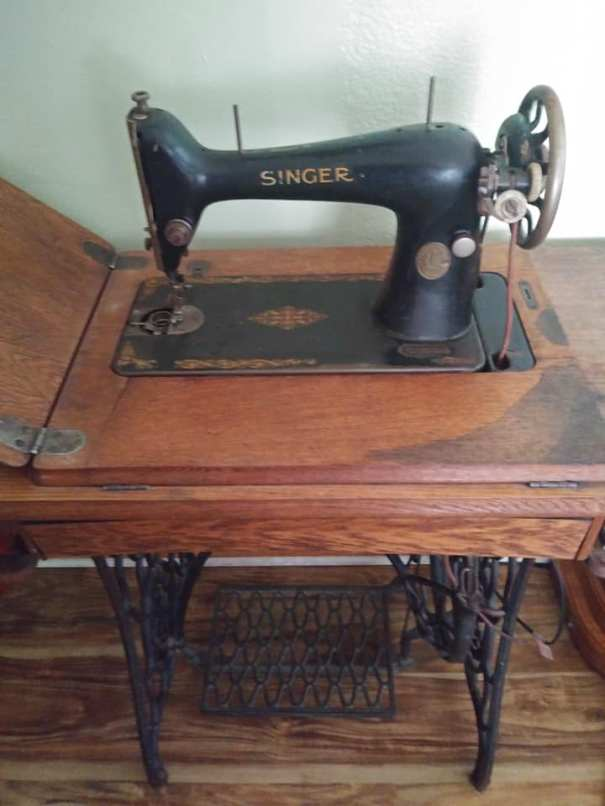 9 german treadle